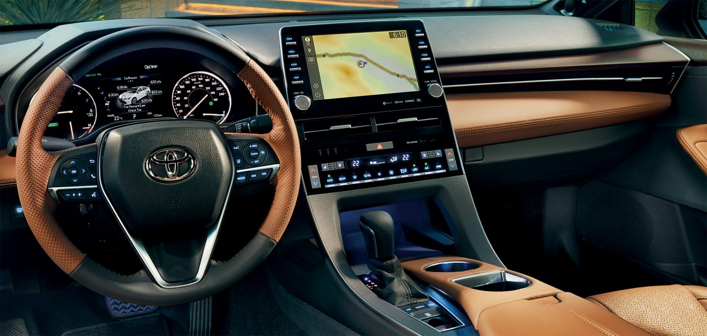 Avalon interior