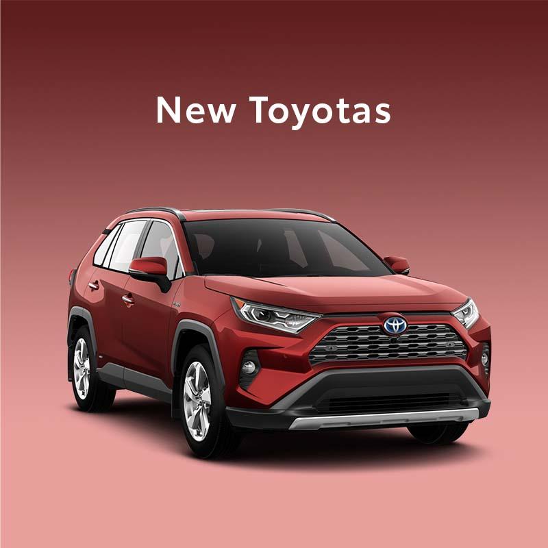 new Toyotas
